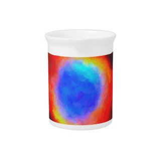 Abstract Galactic Nebula with cosmic cloud 9 Pitcher