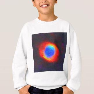 Abstract Galactic Nebula with cosmic cloud 9 Sweatshirt