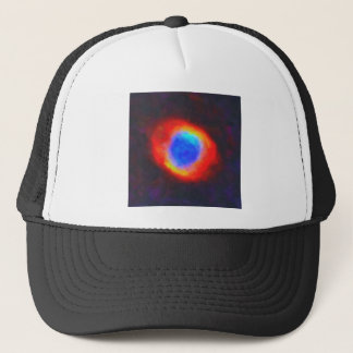 Abstract Galactic Nebula with cosmic cloud 9 Trucker Hat