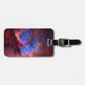 Abstract Galactic Nebula with cosmic cloud Luggage Tag