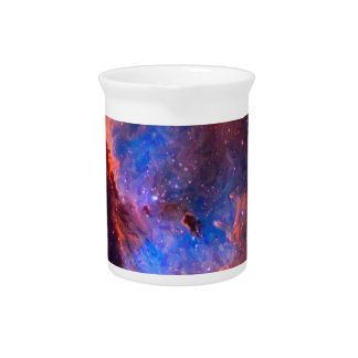 Abstract Galactic Nebula with cosmic cloud Pitcher