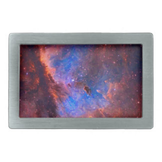 Abstract Galactic Nebula with cosmic cloud - sml.j Belt Buckle
