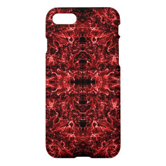 Abstract galaxy red texture. iPhone 8/7 case