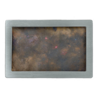 Abstract Galaxy with cosmic cloud 2 sml Belt Buckles