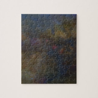 Abstract Galaxy with cosmic cloud sml Jigsaw Puzzle