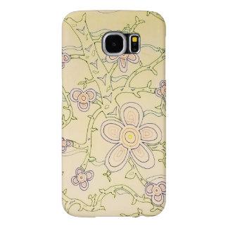 Abstract Garden Galaxy S6 Case (Vintage)