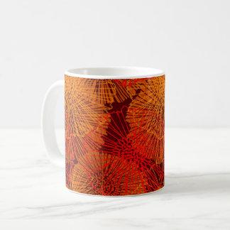Abstract Garden (Glow) Coffee Mug