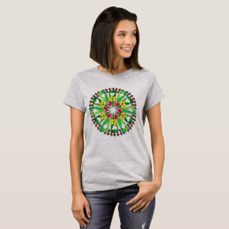 Abstract Garden Illustration T-Shirt