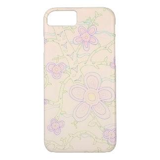 Abstract Garden iPhone 7 Case (Pastel)