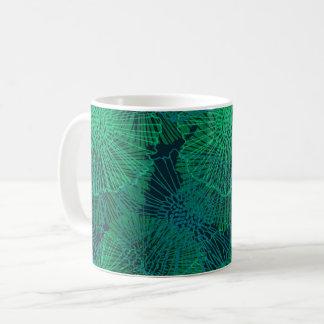 Abstract Garden (Nocturnal) Coffee Mug