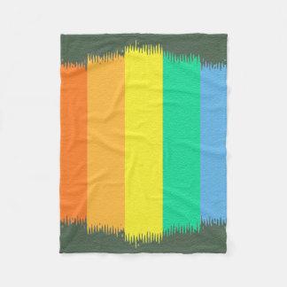Abstract Gen Land Fleece Blanket
