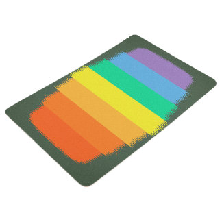 Abstract Gen Land Floor Mat