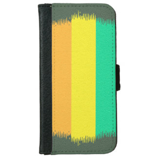 Abstract Gen Land iPhone 6 Wallet Case