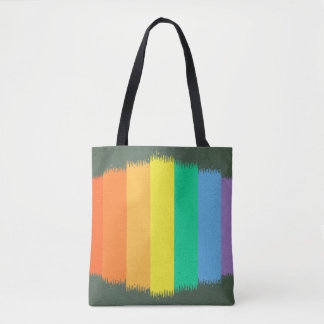 Abstract Gen Land Tote Bag