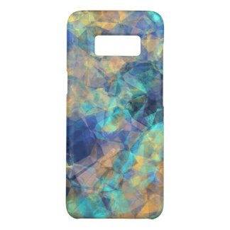 Abstract Geologic Crystal Pattern Blue Green Gold Case-Mate Samsung Galaxy S8 Case