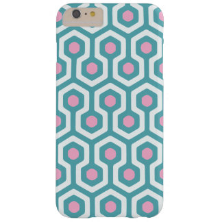 Abstract Geometric Beehive Pattern Barely There iPhone 6 Plus Case