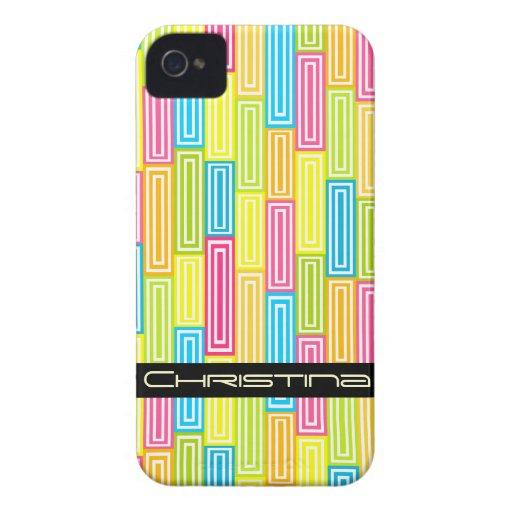 Abstract geometric BlackBerry Bold Case