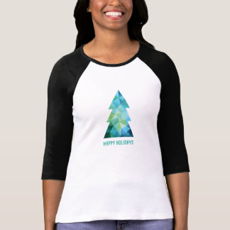 Abstract geometric Christmas tree T-Shirt