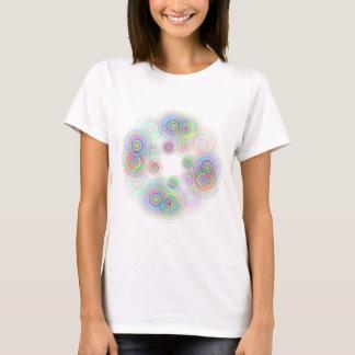 Abstract geometric circles. T-Shirt