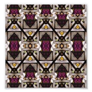 Abstract Geometric Modern Seamless Pattern Photograph