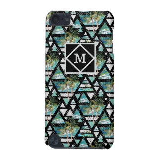 Abstract Geometric Palms & Waves Pattern iPod Touch (5th Generation) Case