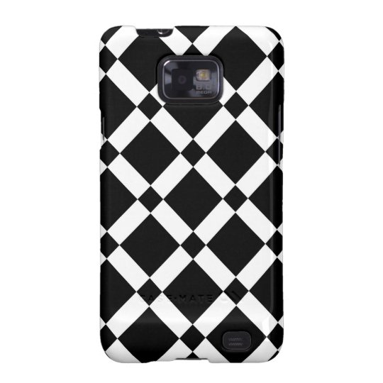 Abstract geometric pattern - black and white. galaxy SII cover