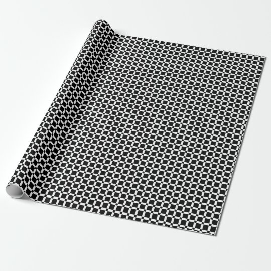 Abstract geometric pattern - black and white. wrapping paper