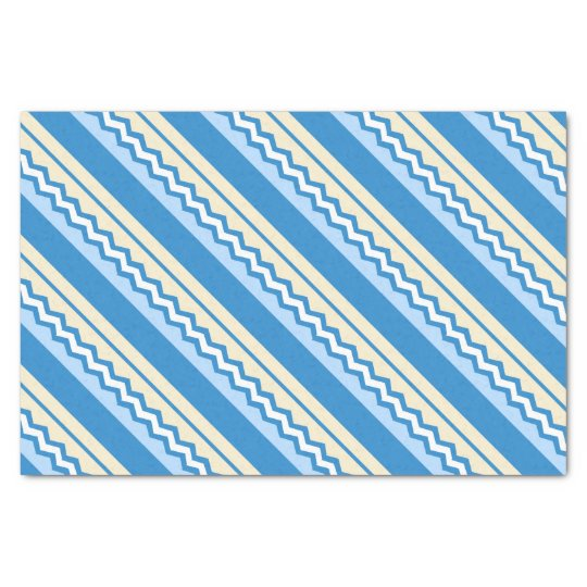 Abstract geometric pattern - blue and white. tissue paper