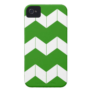 Abstract geometric pattern - green and white. Case-Mate iPhone 4 case