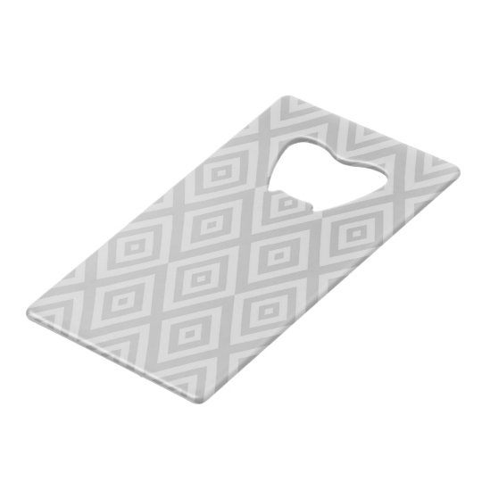 Abstract geometric pattern - grey.