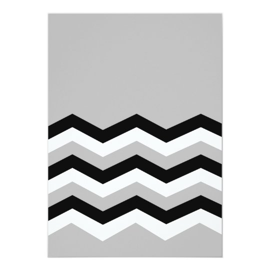 Abstract geometric pattern - grey,black and white. card