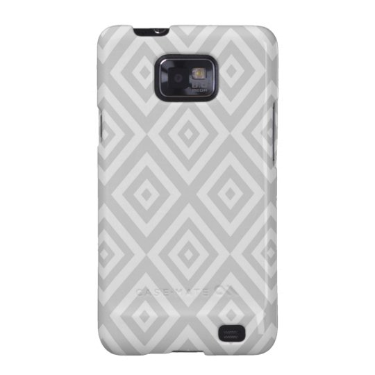 Abstract geometric pattern - grey. galaxy s2 case