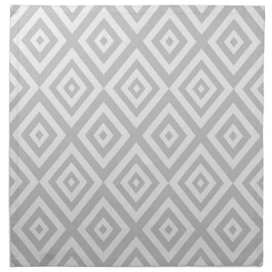 Abstract geometric pattern - grey. napkin