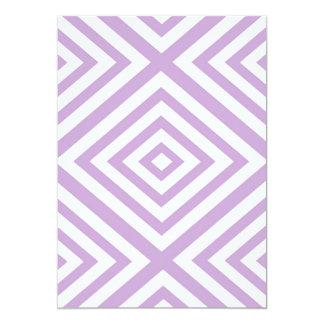 Abstract geometric pattern - purple. card