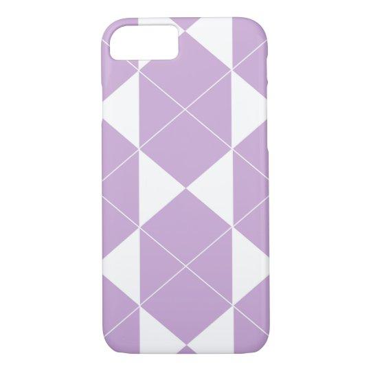 Abstract geometric pattern - purple. iPhone 8/7 case