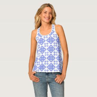 Abstract geometric pattern singlet