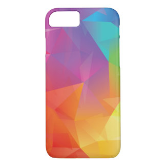 Abstract Geometric Rainbow Phone Case