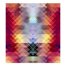 Abstract Geometric Spectrum 2 Poster
