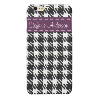 Abstract geometric squares black and white pattern
