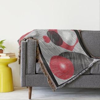 Abstract Geometric Throw Blanket