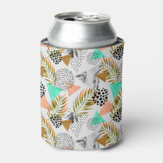 Abstract Geometric Tropical Leaf Pattern Can Cooler
