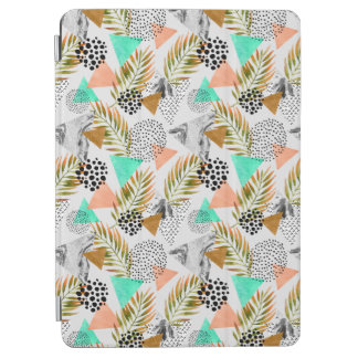 Abstract Geometric Tropical Leaf Pattern iPad Air Cover