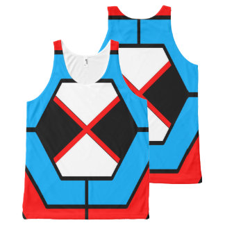 Abstract Geometric Unisex Tank Top