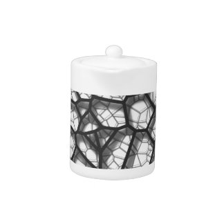 Abstract geometrical science concept voronoi low p