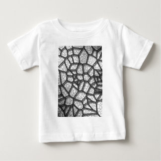 Abstract geometrical science concept voronoi low p baby T-Shirt
