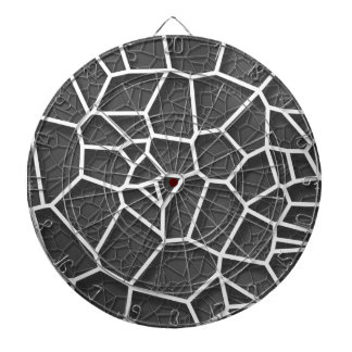 Abstract geometrical science concept voronoi low p dartboard