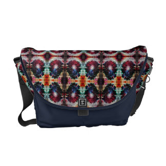Abstract Gerbera Daisy Commuter Bag