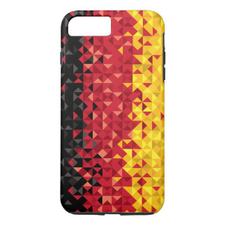 Abstract Germany Flag, German Colors, Phone Case
