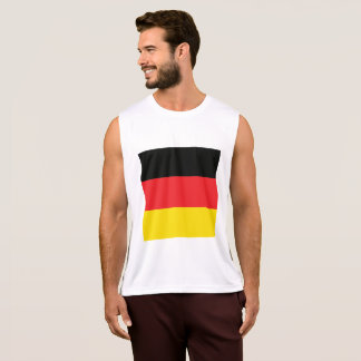 Abstract Germany Flag, German Colors, Polygon Singlet