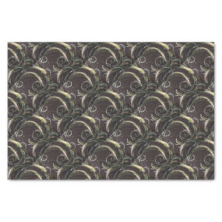 Abstract gift wrap in 'Feeling Green' Tissue Paper